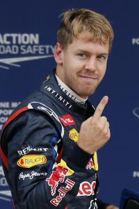 Vettel wins again!